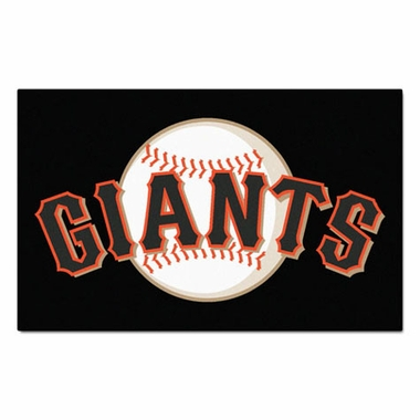 San Francisco Giants Economy 5 Foot x 8 Foot Mat