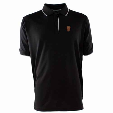 San Francisco Giants Mens Elite Polo Shirt (Color: Black)