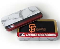 San Francisco Giants Embroidered Leather Checkbook Cover