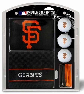 San Francisco Giants Embroidered Towel Gift Set