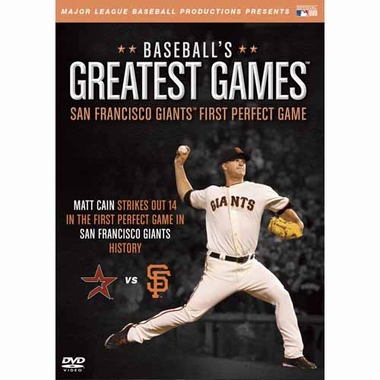 San Francisco Giants First Perfect Game DVD