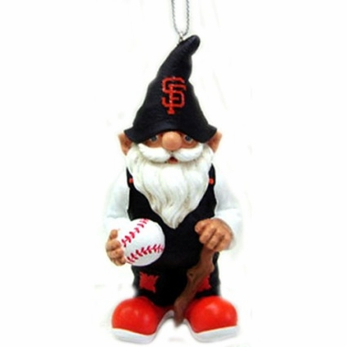 San Francisco Giants Gnome Christmas Ornament