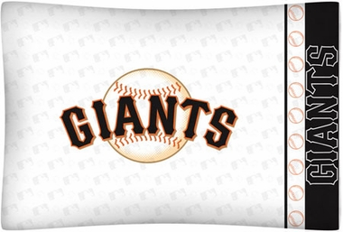 San Francisco Giants Individual Pillowcase