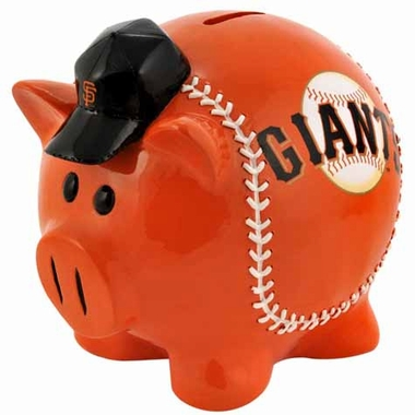 San Francisco Giants Large Thematic Piggy Bank
