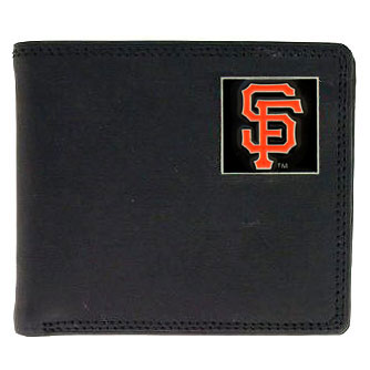 San Francisco Giants Leather Bifold Wallet (F)