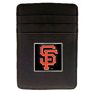 San Francisco Giants Leather Money Clip (F)