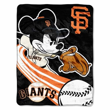 San Francisco Giants Microfiber Lightweight Blanket