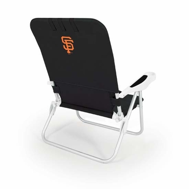 San Francisco Giants Monaco Beach Chair (Black)