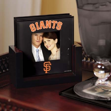 San Francisco Giants Photo Coaster Set