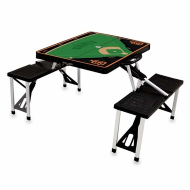 San Francisco Giants Picnic Table Sport (Black)
