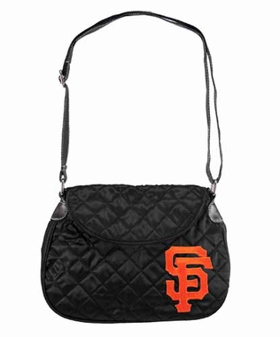 San Francisco Giants Quilted Saddlebag
