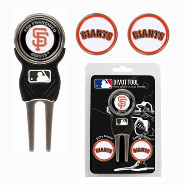 San Francisco Giants Repair Tool and Ball Marker Gift Set