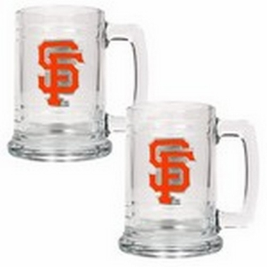 San Francisco Giants Set of 2 15 oz. Tankards