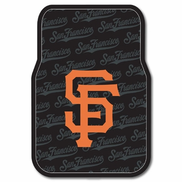 San Francisco Giants Set of Rubber Floor Mats