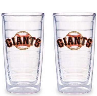 San Francisco Giants Set of TWO 16 oz. Tervis Tumblers