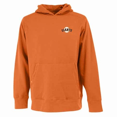 San Francisco Giants Mens Signature Hooded Sweatshirt (Alternate Color: Orange)