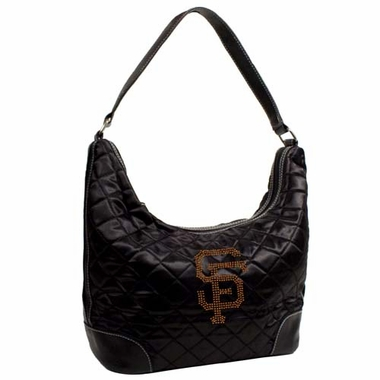 San Francisco Giants Sport Noir Quilted Hobo