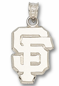 San Francisco Giants Sterling Silver Pendant