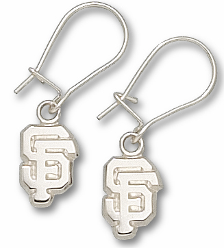 San Francisco Giants Sterling Silver Post or Dangle Earrings