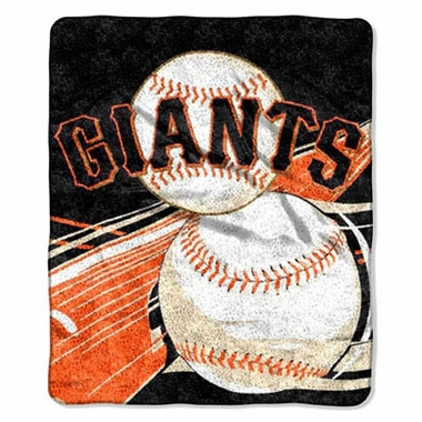 San Francisco Giants Super-Soft Sherpa Blanket
