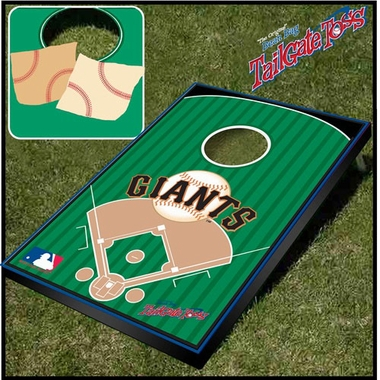 San Francisco Giants Tailgate Toss Cornhole Beanbag Game