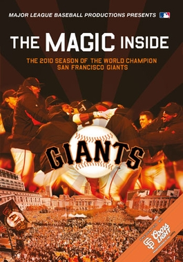 San Francisco Giants The Magic Inside DVD