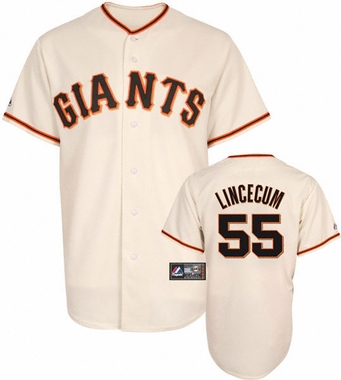 San Francisco Giants Tim Lincecum Replica Player Jersey