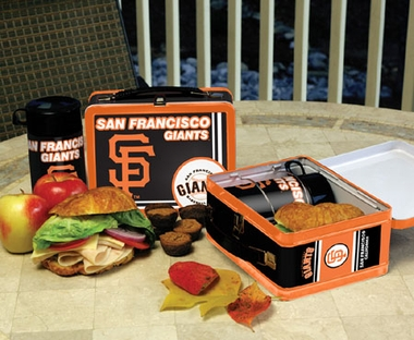 San Francisco Giants Tin Lunch Box