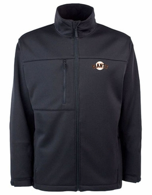 San Francisco Giants Mens Traverse Jacket (Team Color: Black)
