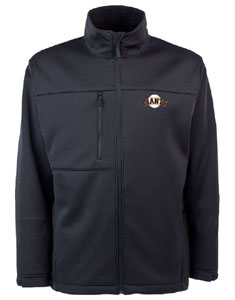 San Francisco Giants Mens Traverse Jacket (Team Color: Black) - XX-Large