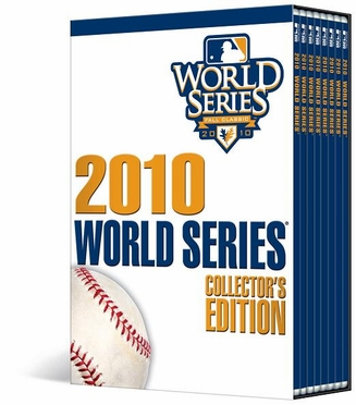 San Francisco Giants W.S. Champs 2010 World Series Collectors Edition DVD Set