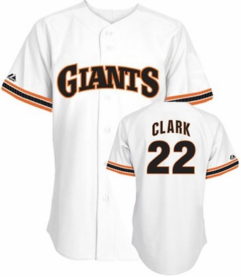 San Francisco Giants Will Clark Replica Throwback Jersey
