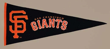 San Francisco Giants Wool Pennant