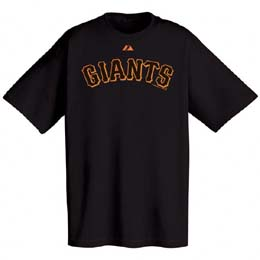San Francisco Giants Wordmark T-Shirt - X-Large