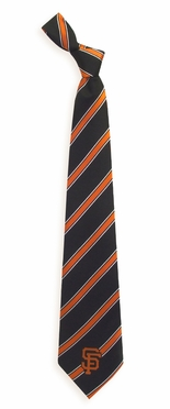San Francisco Giants Woven Poly 1 Necktie