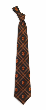 San Francisco Giants Woven Poly 2 Necktie