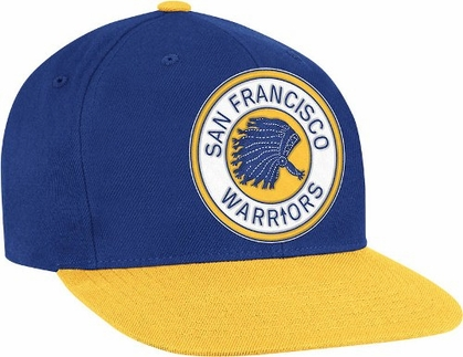San Francisco Warriors 2-Tone Vintage Snap back Hat
