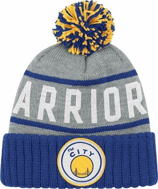 San Francisco Warriors High 5 Vintage Cuffed Pom Hat