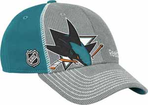 San Jose Sharks 12 Draft Hat - Large / X-Large