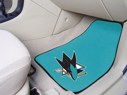 San Jose Sharks 2 Piece Car Mats