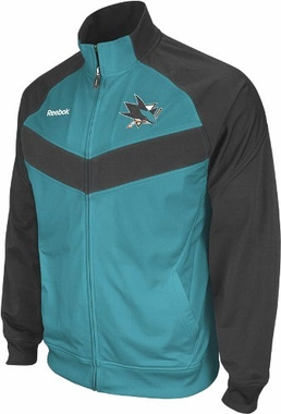 San Jose Sharks 2011 Center Ice Full Zip Travel Jacket