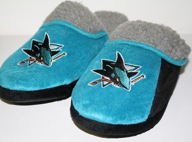 San Jose Sharks 2012 Sherpa Slide Slippers