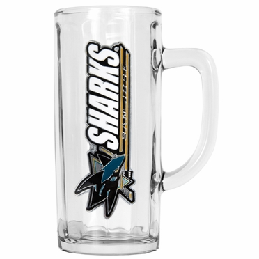 San Jose Sharks 22 oz Optic Tankard