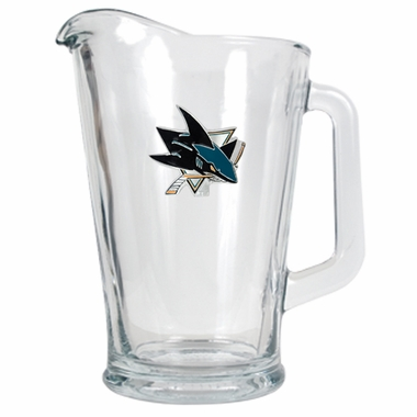 San Jose Sharks 60 oz Glass Pitcher