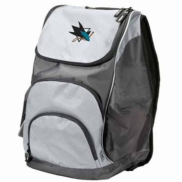 San Jose Sharks Action Backpack (Color: Grey)