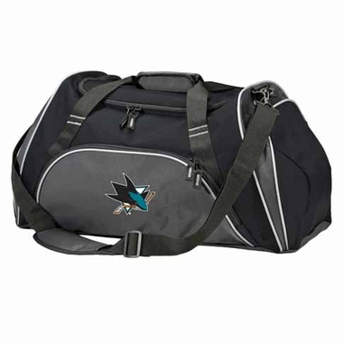 San Jose Sharks Action Duffle (Color: Black)