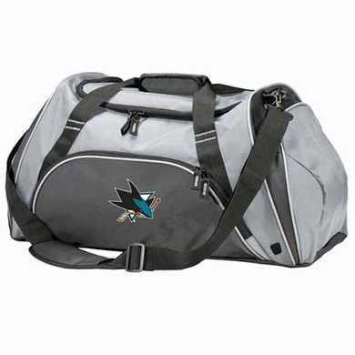 San Jose Sharks Action Duffle (Color: Grey)