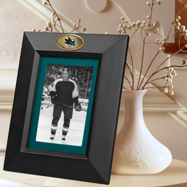 San Jose Sharks BLACK Portrait Picture Frame