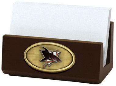 San Jose Sharks Business Card Holder