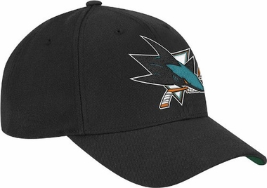 San Jose Sharks Coaches Vintage Adjustable Snapback Hat